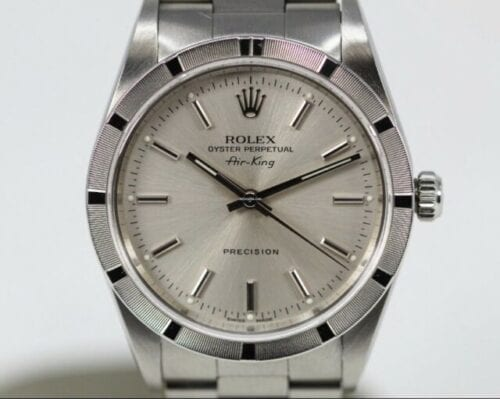 Rolex Air-King Precision Silver