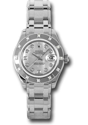 Lady Datejust Pearlmaster White Gold – 12 Diamond Bezel