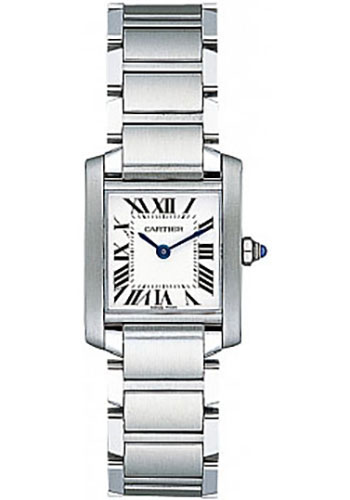 Ladies Cartier Tank Francaise Watch – Small Steel Case
